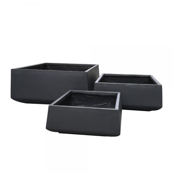 StoneLite-Romano-Low-Square-Pot-81030-charcoal-online