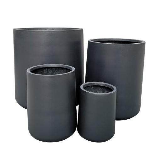 StoneLite-Romano-Round-Pot-81029-charcoal