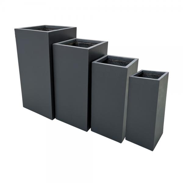 stonelite-tall-square-pot-charcoal-81027-group-online